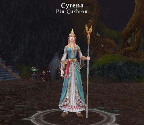 Cyrena pin cushion