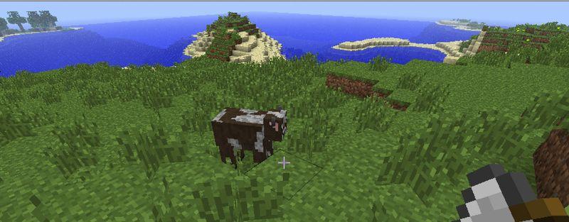 Minecraftcow